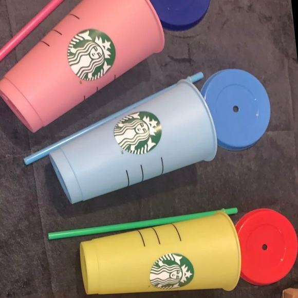 New Starbucks Cups Never Used